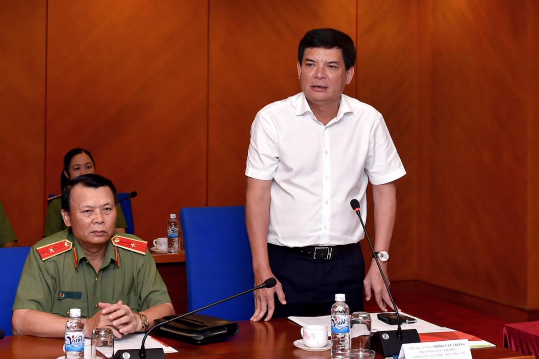 Trung tướng Trình Văn Thống, Tổng cục An ninh tin tưởng sự phối hợp chặt chẽ giữa ngành an ninh và Vietlott trong việc đảm bảo hoạt động của loại hình kinh doanh xổ số tự chọn số điện toán