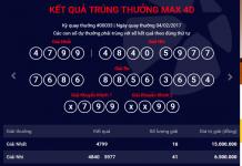 kết quả xổ số kiểu mỹ max 4d