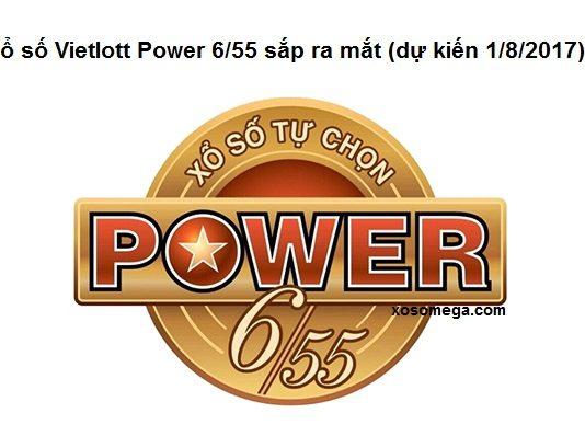 xổ số vietlott power 6/55